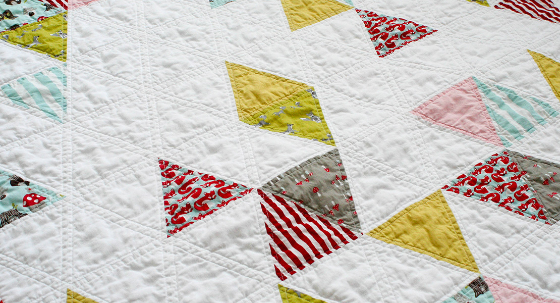 Quilting With Triangles, Part 1: Cutting | WeAllSew : equilateral triangle quilt tutorial - Adamdwight.com
