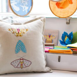 Finch Sewing Studion Embroidery Challenge with Alison Glass and BERNINA