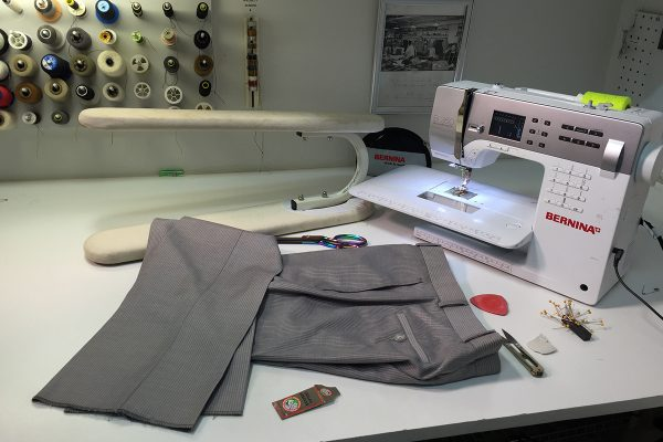 How to create pant cuffs