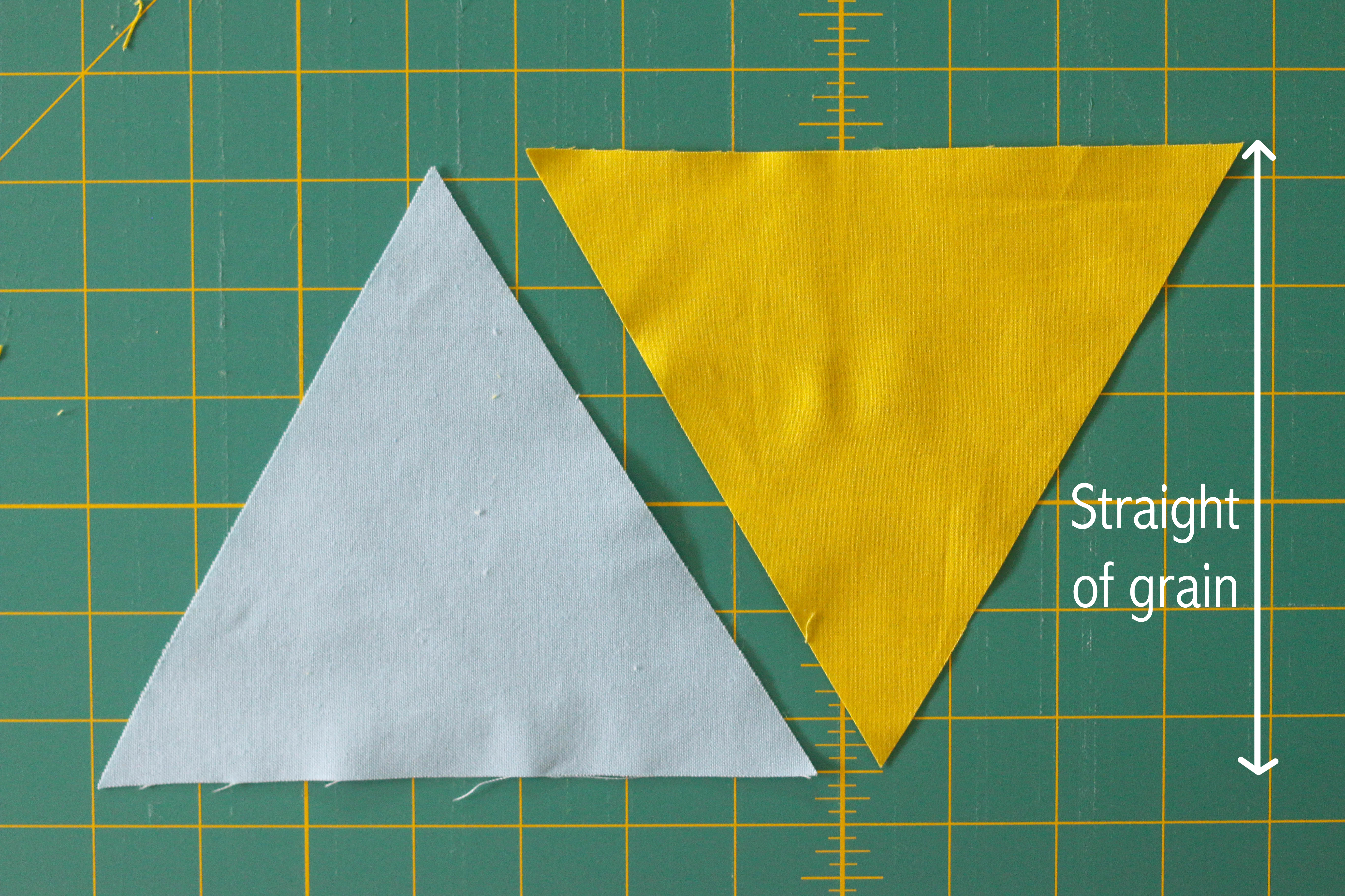 Quilting with Triangles, Part 2: Piecing   WeAllSew : quilting triangles tips - Adamdwight.com