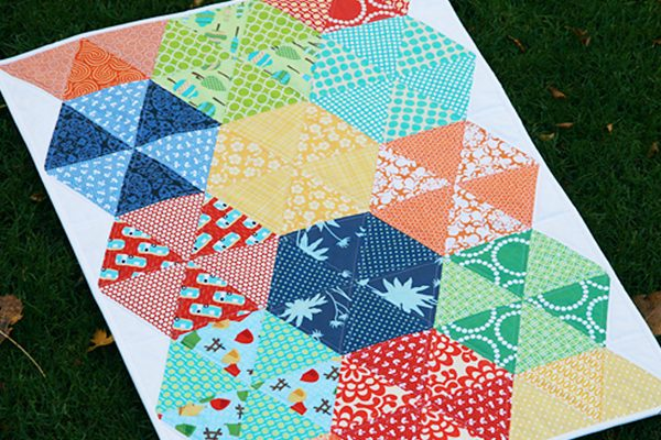 Lee Heinrich Quilting with Triangles Part III