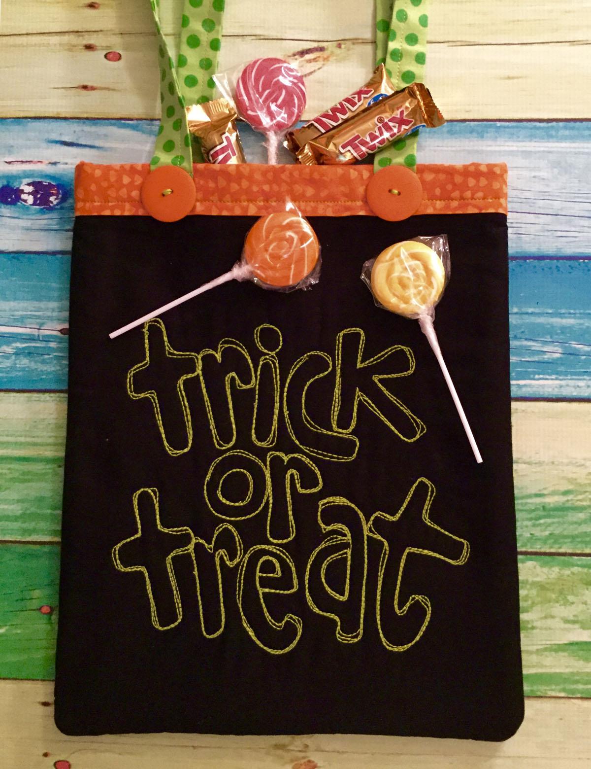 Little Jack Trick or Treat Bag | WeAllSew