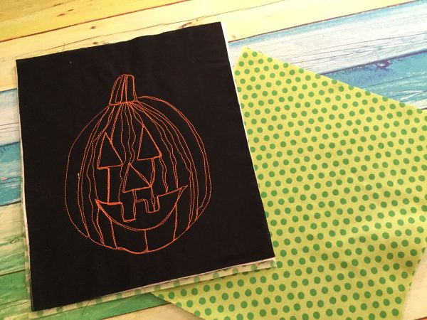 Little jack trick or treat bag tutorial