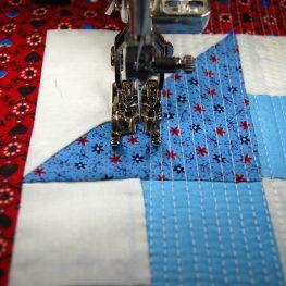 Orphan block mini-quilt