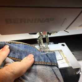 Tip for better fitting jeans