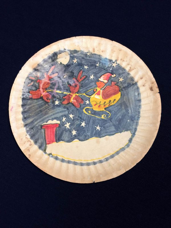 'Twas the Night Before Christmas Quilt-Paper Plate