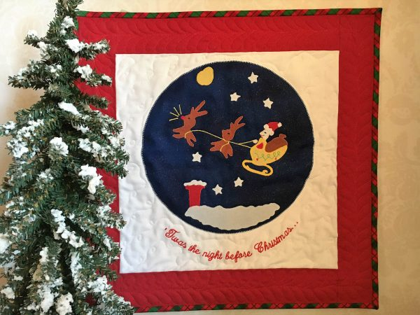 'Twas the Night Before Christmas Quilt Tutorial