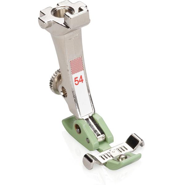 Zipper foot with non-stick sole # 54