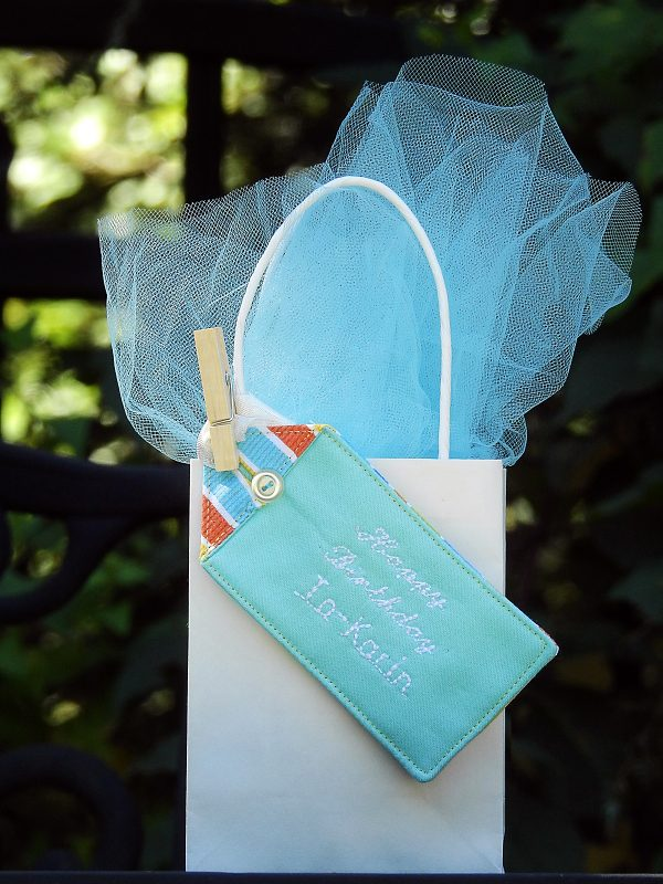 Personalized Fabric Gift Tag