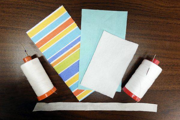 materials 1200 x 800 BERNINA WeAllSew Blog fabric gift tag
