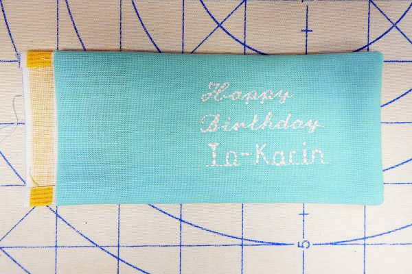 pressing 1200 x 800 BERNINA WeAllSew Blog fabric gift tag