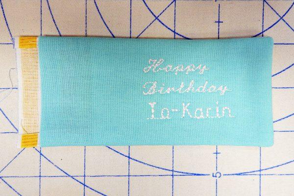 pressing 1200 x 800 BERNINA WeAllSew Blog fabric gift tag
