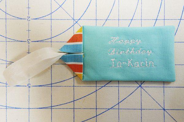 ready to topstitch 1200 x 800 BERNINA WeAllSew Blog fabric gift tag