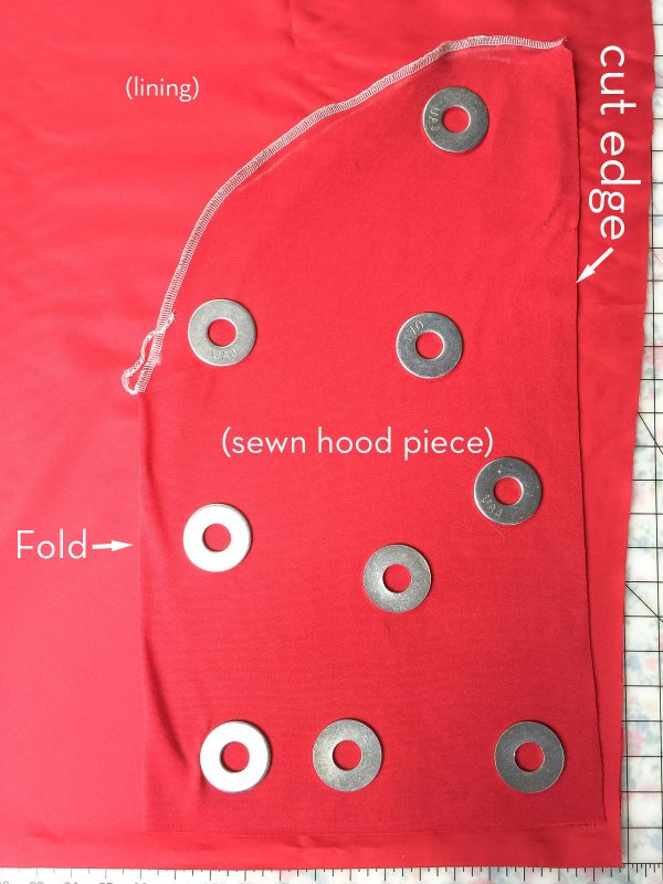 How to make a hooded cape; perfect for a Halloween Costume