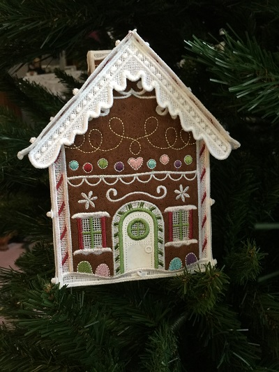 OESD Gingerbread House | WeAllSew