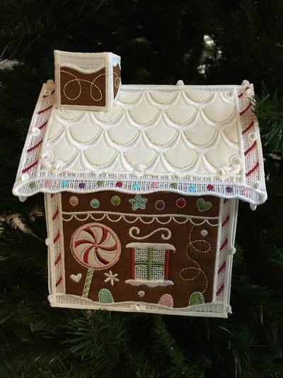 OESD Gingerbread House   WeAllSew