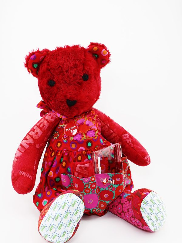 BERNINA sews a RARE Bear