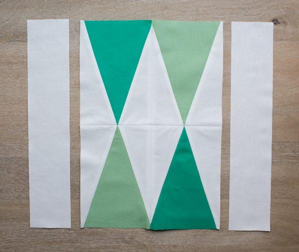 Modern Pine Trees Quilt Block Pattern