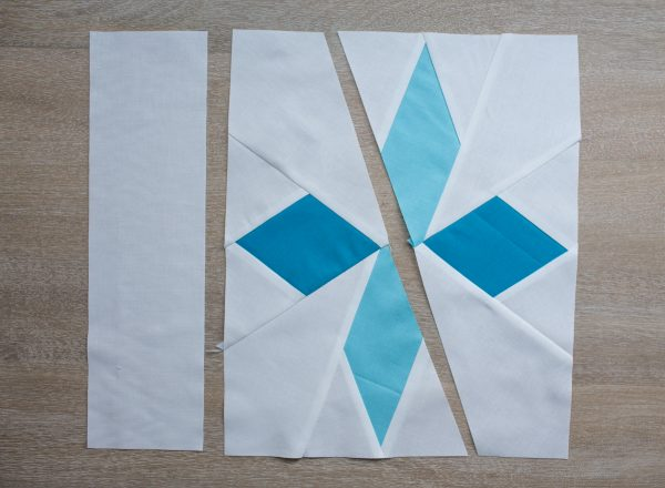Snowflakes Quilt Block Pattern