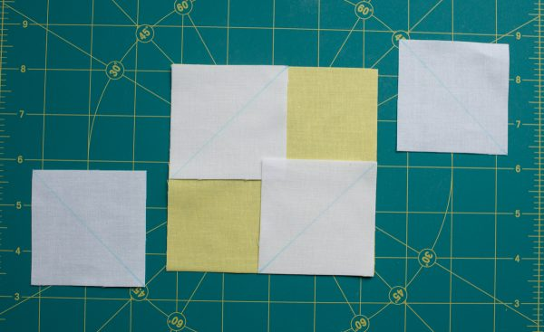 Golden Star Quilt Block Pattern