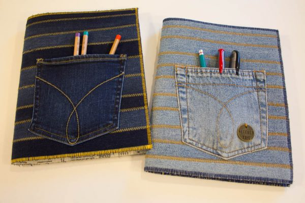 Jeans Composition Book Cover