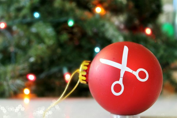 BERNINA Scissors Ornament