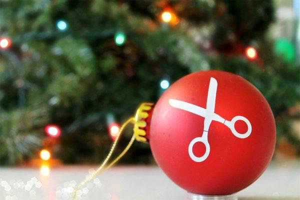 BERNINA Scissors Ornament