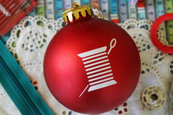 BERNINA Thread Spool Ornament