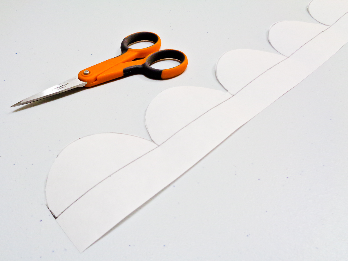 How To Add A Scalloped Edge Tutorial Cut Out Your Template