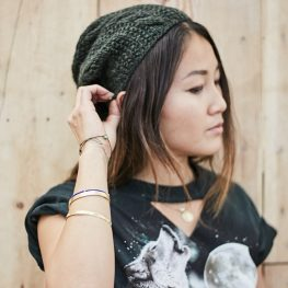 How to upcycle an old sweater into a beanie