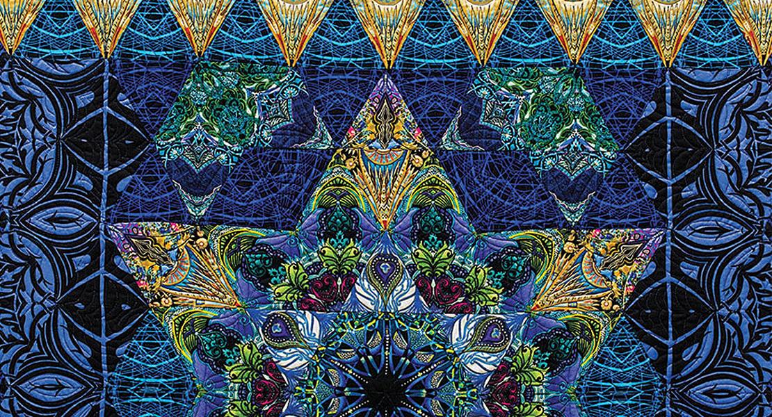 Illuminated Star by Paula Nadelstern
