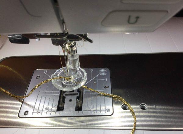 Jingle Bell Door Hanger-setting up your machine