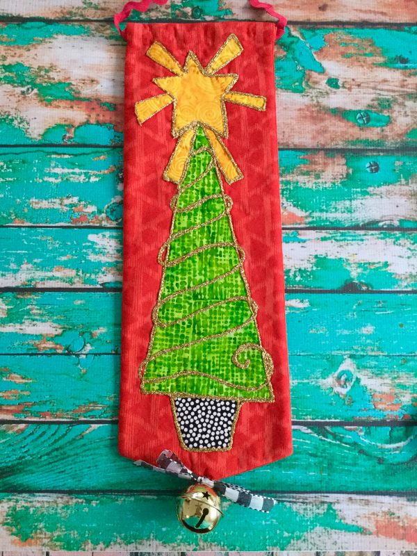 Jingle Bell Door Hanger-Finished door banner