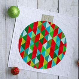 Ornament Mini-quilt