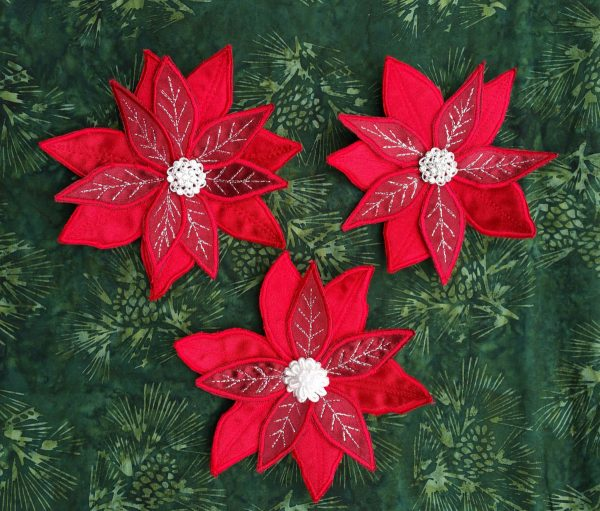 Poinsettia Pin Tutorial