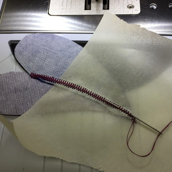 Tracing paper appliqué tip