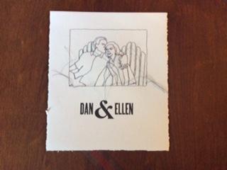 figure study Dan and Ellen