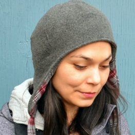 Reversible wool hat tutorial