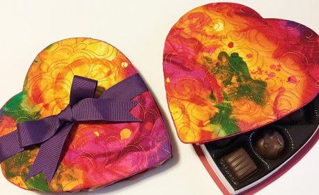 Candy Box Cover and Mug Rug Tutorial