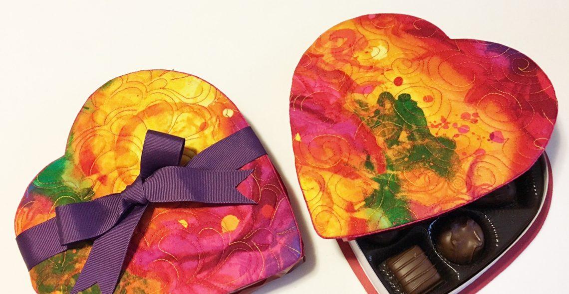 Candy Box Cover and Mug Rug