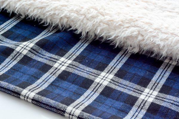 DIY Fur Lined Tartan Poncho-117