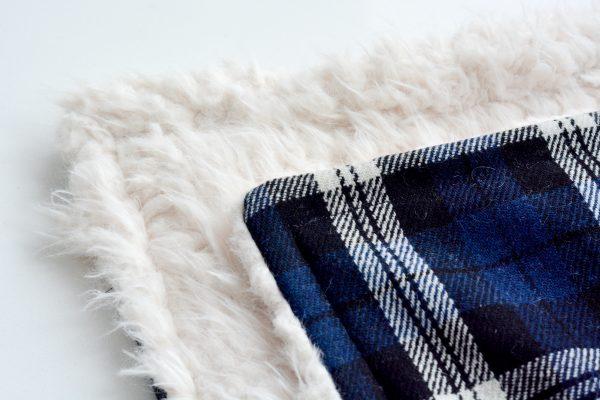 DIY Fur Lined Tartan Poncho-137