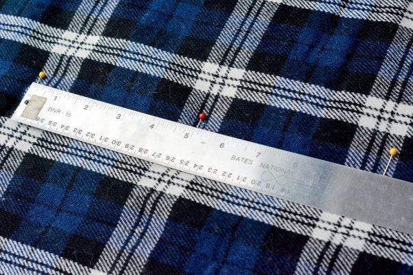 DIY Fur Lined Tartan Poncho-152