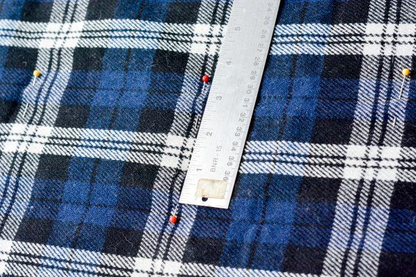 DIY Fur Lined Tartan Poncho-153