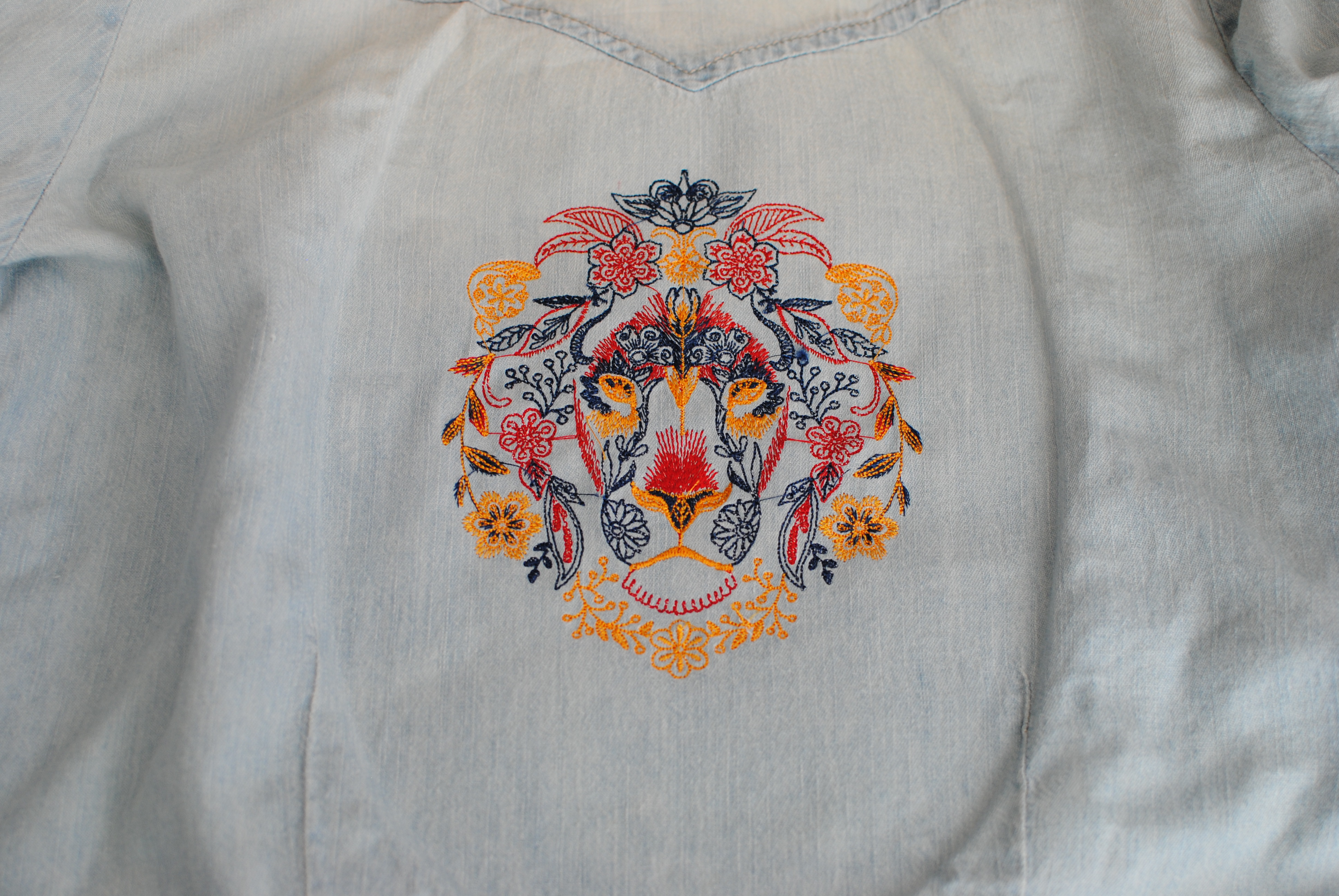 Embellish A Shirt With Embroidery Weallsew