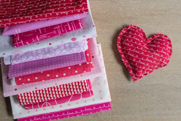Lavender Sachet Heart Bunting Tutorial Step 6