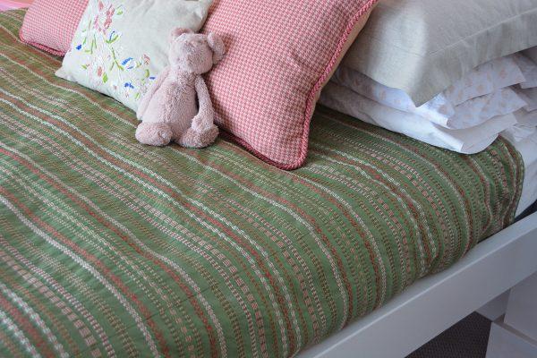 Pink Gold Bird Bedroom-380