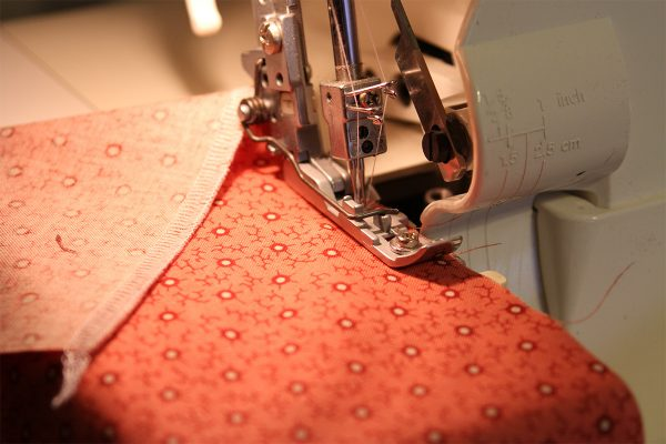 Prewashing Fabric Before Sewing with a Serger