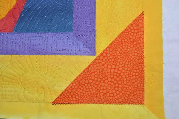How to make a quilt facing