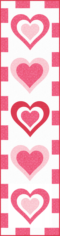 Be My Valentine Runner Vertical 1200 wide
